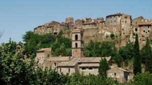 vista del borgo e della chiesa di San Famiano…