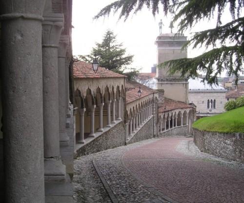 Udine - Discesa dal castello