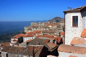 Caggiano…il borgo visto dal Castello