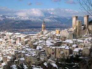 un presepe d'Abruzzo