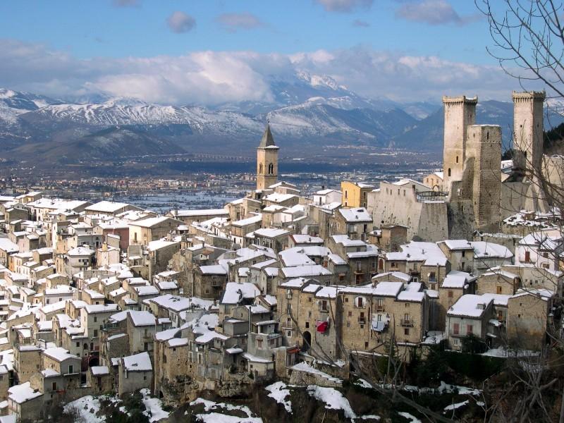 ''un presepe d'Abruzzo'' - Pacentro