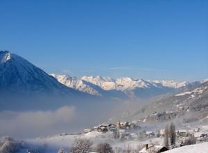 Tra la neve e la nebbia