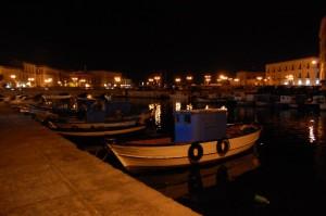 panorama dal porto piccolo di siracusa