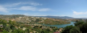 Il lago della diga