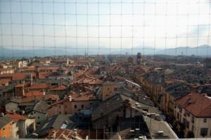 Tetti di Cuneo dalla Torre Civica