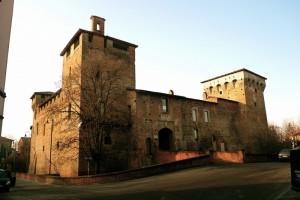 il castello di romano di lombardia