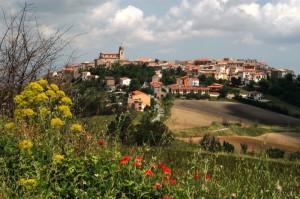 panorama di Montorio nei Frentani