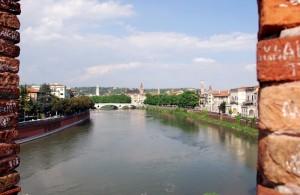 """""""dal ponte di Castel Vecchio"""""""