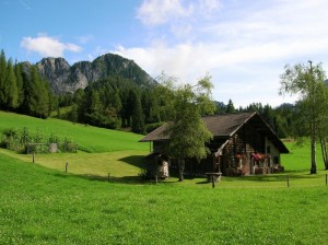 Via Caltene - Un paesaggio stupendo