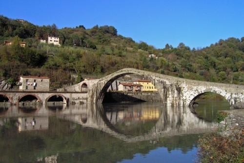 Borgo a Mozzano - PONTE DELLA MADDALENA  (PONTE DEL DIAVOLO)
