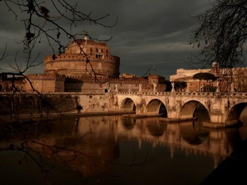 Roma - Castel Sant'Angelo pre-temporale