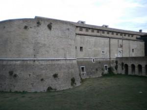 Ingresso principale alla rocca fortificata
