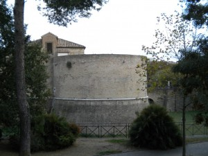 Vista sulla rocca di Pesaro