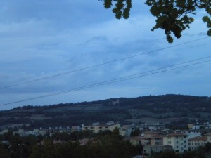Il monte dell'antenna..