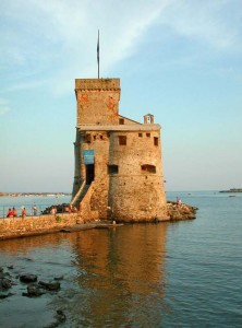 Castello sul mare-Rapallo