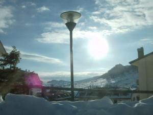 Al calar del sole s'illumina la Valle…