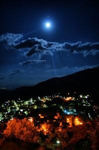Morano e la luna…