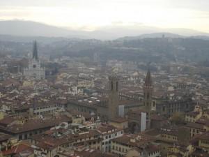 Vista dal Campanile di Giotto