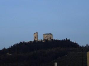 Vista del Castello