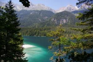 Il lago di Tovel-panoramica
