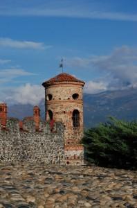 particolare della torre