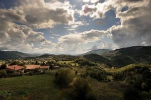 Panorama da Monte San Giovanni in Sabina