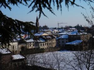 Neve a San Vito di Leguzzano