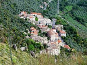 Un nido di case: Caprile, frazione di Roccasecca