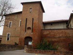 Ingresso al castello Crivelli