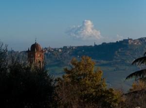 Panorama da Montefollonico