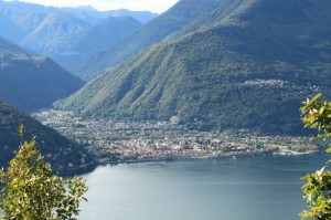 veduta di Cannobio da San Rocco (Maccagno)
