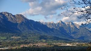 panorama su Santa Giustina