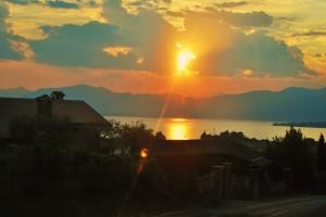 vista lago di garda da Bardolino