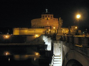 Notturno a Castel Sant'Angelo