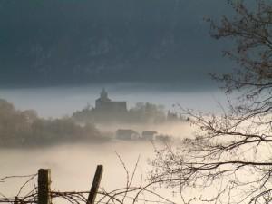 Castello nella nebbia