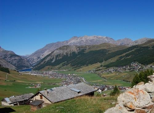 Livigno - Vista di Livigno
