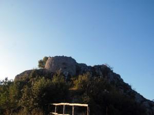 Torre diroccata Monte Asprano