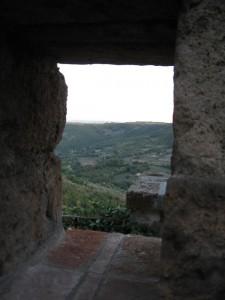 Civita di Bagnoregio (stralcio di veduta)