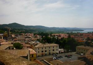 Dalla Rocca panorama di Bolsena