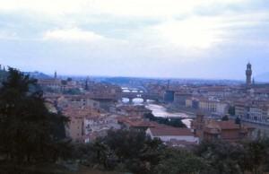 Dal piazzale Michelangelo