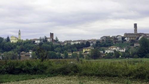 Capriata d'Orba - Temporale su Capriata