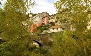 Voltaggio e il ponte Romano