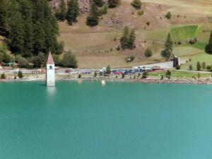 Il lago di Resia