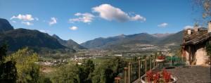 Panoramica della Valsugana TN