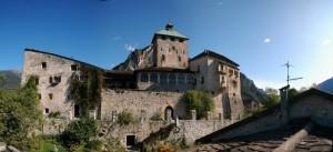 Castello d'Ivano Panoramica della parte centrale