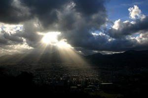 Luce su Palermo