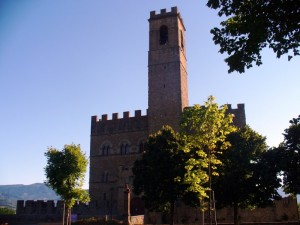 Il Castello dei conti Guidi a Poppi