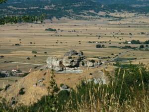 "Panorama sulla Fonte Sacra ""Su Lumarzu"""