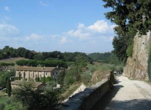 Vista dal Borgo di Tragliata