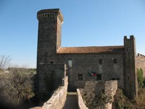 Vista dal ponte della badia del castello - Vulci
